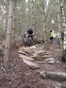 build a singletrack mountain bike trail that is challenging and challenges riders