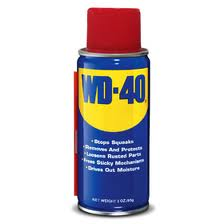 wd-40 can be used as a bicycle chain lube, just be careful where you point it