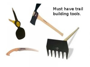 25 best tools for building singletrack mountain bike trails