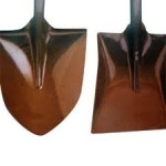 shovels for building mountain bike trails, jumps, landings and berms