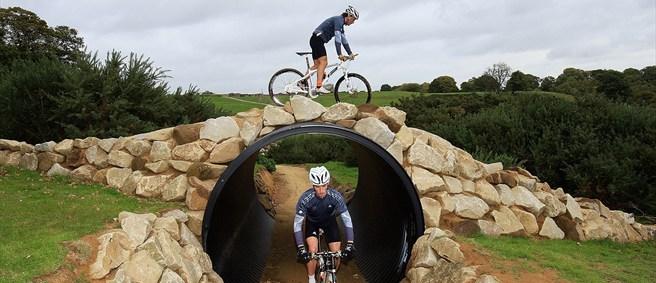 2012 london olympic games mountain biking Hadleigh Farm in Essex