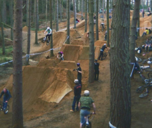 Pollard's Complete Trail Building Guide creative examples of dirt jump lines for inspiration image five