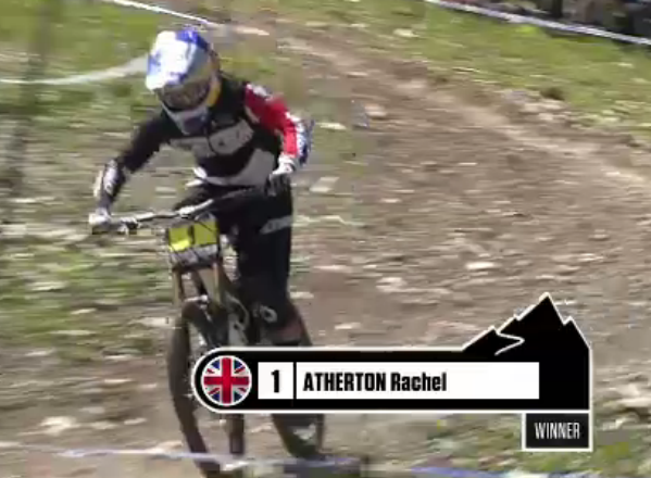 rachel atherton wins val d'isere world cup dh 2012