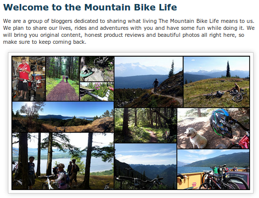 the mountain bike life blog