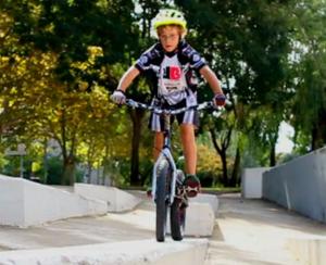 """gerard trueba 20"""" modified trials biking kid"""