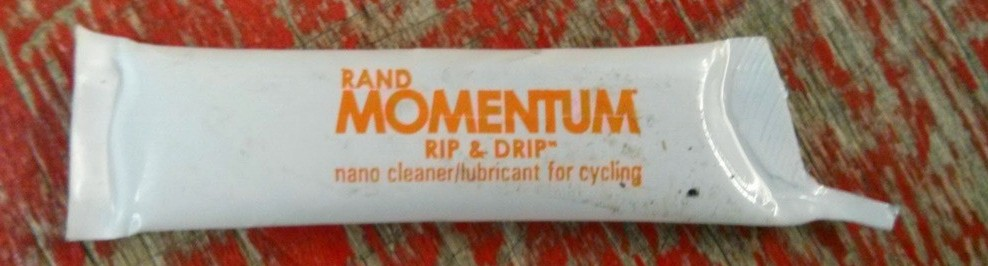 rand momentum nano cleaner and lubricant for cycling