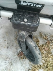 joytrax se2 front stroller wheel