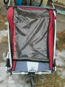Joytrax SE2 child bike trailer